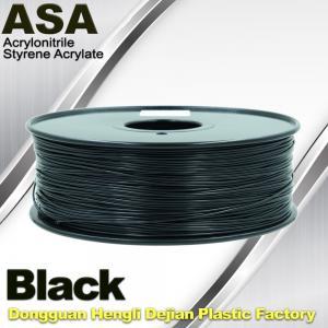 China Anti Ultraviolet ASA UV 3D Printer Filament 1.75 / 3.0mm 3d Printing Filament on sale