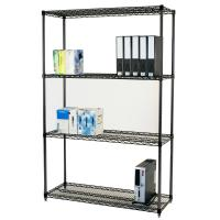Quality Adjustable Open Commercial Wire Shelving Unit Environment 4 Layers for sale