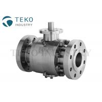 API 6D Stainless Steel Trunnion Isolation Ball Valve Flange Type Fire Proof for sale