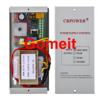 Quality Electromagnetic Lock Power Supply , 12 Volt 5 Amp Door Access Power Supply 50Hz for sale