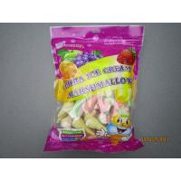 Quality 228g OCHRA Bag Packing Ice Cream Fruity Marshmallow Gifts / Snack Marshmallow for sale