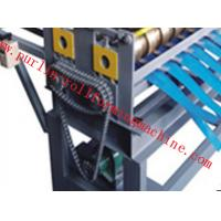Quality Automatic Slitting Machine Line Composed of Uncoiler , Pinch / Leveling , Slitting , Recoiler for sale