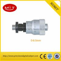 Quality 0-6.5mm Clamp Nut Electronic Outside Micrometer Head With Spindle Lock Spherical Spindle Face for sale