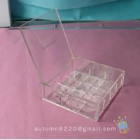 Quality BO (137)clear acrylic watch display case for sale