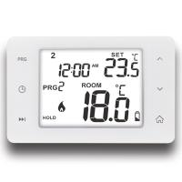 China NTC Sensor Wired Room 7 Day Programmable Touch Screen Floor Heating Thermostat on sale