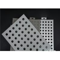 Quality Easy Installation Perforated Aluminum Panels Good Plasticity Perforated Aluminum Plate for sale