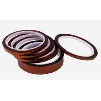 High Temperature Ersistable Brown Tape, double sided Kapton Tape for sale