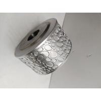 Quality Metallic Steel Embossing Roller With 45# Seamless Pipe , Knurling Roller for sale