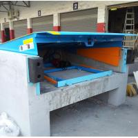 Quality Safety 12 Ton Loading Dock Leveler , Hydraulic Warehouse Truck Dock Equipment for sale