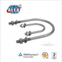 Quality Stainless Steel AISI304/316 U Bolt with Washer Plate and Nuts for sale