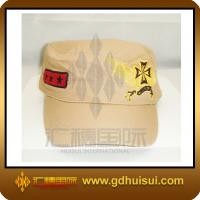 Quality cotton military cap for sale