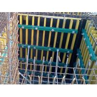 Quality Retaining Wall Formwork Economic Simple Timber Beam Formwork For Curve for sale
