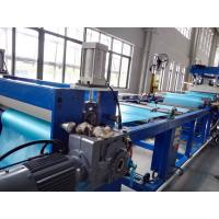 China Soft Plastic Sheet Extrusion Machine , Flexible PVC Sheet Extrusion Equipment Production Line on sale