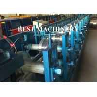 Buy Steel Profile Hat Purlin Roll Forming Machine PLC Control Length at wholesale prices