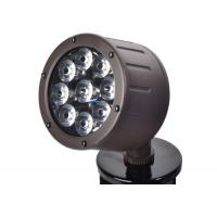 Quality Outside Led Spotlights 12 Watt Color Temperatures 3000K Powder Coated Bronze for sale