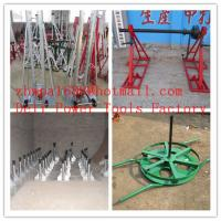 Quality Cable drum trestles  made of cast iron  Jack towers for sale