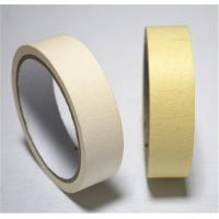 China Waterproof Hot Melt Colored Masking Tape Rubber Adhesive For Home Painting for sale