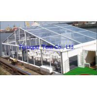 China Easy Assembled Transparent Clear Top Canopy Tent Strengthen  Anti Rust Surface for sale