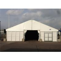 China 25m * 40m Big Roof Marquee Tent Clear Span Steel Buildings With ABS Solid Wall System on sale