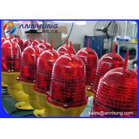 Quality LED Single Aircraft Warning Light On Towers Aluminum Alloy Steady Burning for sale