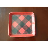 Buy cheap 100% Recyclable Melamine Plastic Plates High Temperature Resistant For Breakfast from wholesalers
