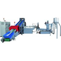 Quality PP, PE, PET Plastic Recycling Pellet Machine With Special Screw Design for sale