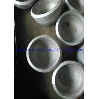 Quality Butt Welded Seamless Steel Pipe Cap ASME / ANSI B16.9 UNS S31803 / 2205 for sale