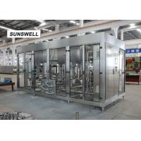 Quality Sunswell Carbonated Beverage Filling Machine For Measuring The Exact Ratio Of Water Flow for sale