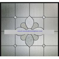 Quality new decorative glass windows designs of 2014 in hot selling for sale