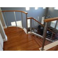 Quality DIY Cable Railing / Wire Rope Balustrade with Stainless Steel Wire Ropes for sale