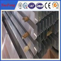 Quality u-shapes profil aluminum extrusion manufacture, industrial aluminum extrusion in china for sale