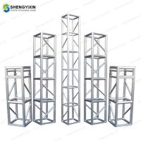 China Concert Lighting Tower Aluminum Structures/ Outdoor Portablestage truss,Truss system 390x390cm,global truss system for sale