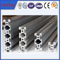 Quality roller lines industrial extruded aluminium profiles, aluminium t-slot extrusion factory for sale