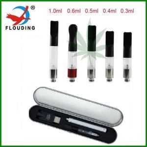 China 280 mah Slim Vape Pen 510 Thc electronic vapor cigarette hemp Cbd Oil Cartridges on sale