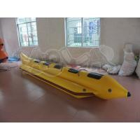 Quality 5 Person Inflatable Yellow Banana Boat for sale