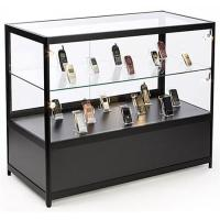 "Quality Lockable Cell Phone Display Case , 48"" Retail Glass Countertop Display Case for sale"