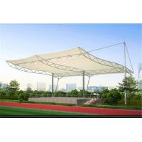 Quality High Strength Tensile Structure Architecture , Fabric Shade Structures Windproof for sale