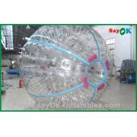 Quality Gaint 1.0mm TPU Land Zorb Ball Custom Inflatables Products for sale