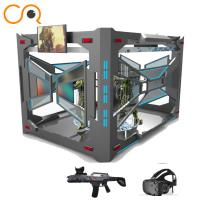 China Multiplayer shooting 9d vr flight game experience center 9d vr simulator on sale