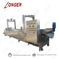 Buy cheap Peanut Continuous Frying Machine Industrial Peanut Fryer Equipment Automatic from wholesalers