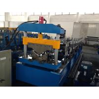 Galvanized Steel Roof Tile Roll Forming Machine Guide Pillar Structure 0.25 - 0.6mm