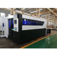 Quality Metal Plate 4Kw Fiber Laser Cutting Machine With Working Table 2000x6000mm for sale