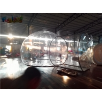China 6m Transparent PVC Steel Galvanized Frame Pipe Camping Tent On Sale on sale