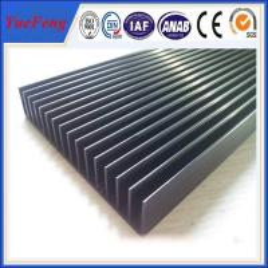 Quality factory extrusion fin aluminum heatsink / aluminum radiator profile / aluminum price kgs for sale