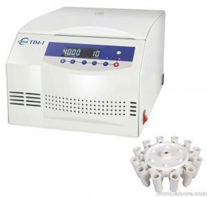 Safety Serum Centrifuge TD4-1 / Medical Centrifuge Machine With Electrical Lid Interlock