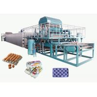 Quality Recycled Paper Pulp Molding Machine For Producing Egg Tray 4000pcs/H for sale