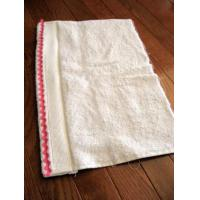 Quality 100% cotton towels with embroidered hotel logo for sale