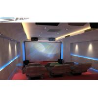 Quality Mobile 5D Cinema Cabin, Theater System With Lightning, Fog, Smell Special Effect for sale