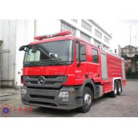 Pump 90L/S Flow Fire Fighting Truck With Split Type Welding Structure Tank