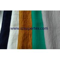 Quality 2026*50D Composite Chiffon Satin 100% Polyester Fabric Hammer Peach DTY DPOY for sale